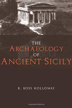 The Archaeology of Ancient Sicily book cover