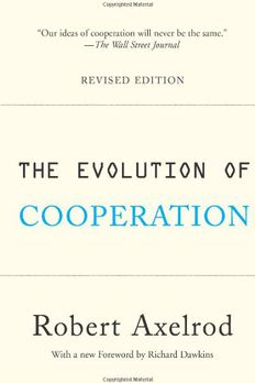 The Evolution of Cooperation book cover