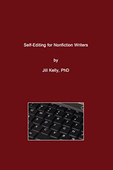 Self-Editing for Nonfiction Writers book cover