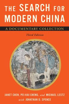 The Search for Modern China book cover