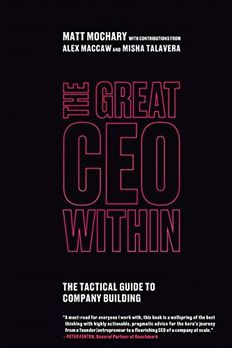 The Great CEO Within book cover