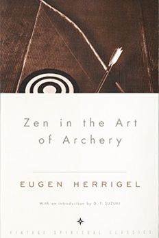 Zen in the Art of Archery book cover