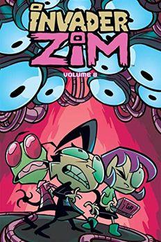 Invader ZIM Vol. 8 book cover