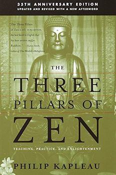 The Three Pillars of Zen book cover