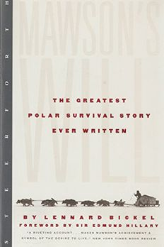 Mawson's Will book cover