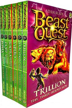 Beast Quest Series 2 Collection book cover