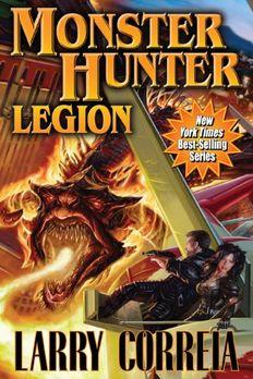 Monster Hunter Legion book cover