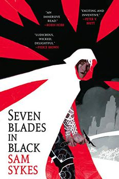 Seven Blades in Black book cover