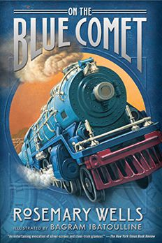 On the Blue Comet book cover