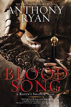 Blood Song book cover
