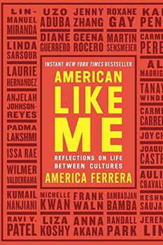 American Like Me book cover