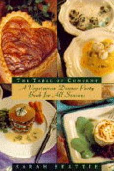Table of Content a Vegetarian Dinner Par book cover