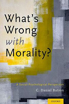 What's Wrong With Morality? book cover