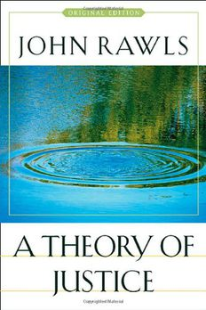 A Theory of Justice book cover
