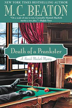 Death of a Prankster book cover