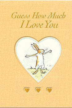 Guess How Much I Love You BOARD book cover