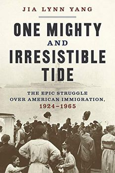 One Mighty and Irresistible Tide book cover