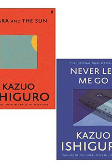 Klara and the Sun / Never Let Me Go book cover