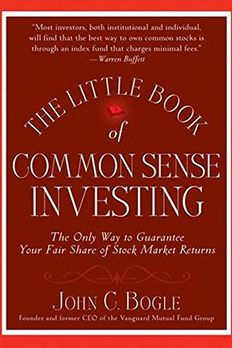 The Little Book of Common Sense Investing book cover