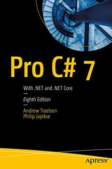 Pro C# 7 book cover