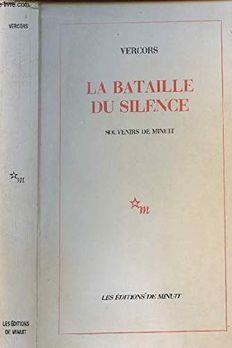 La Bataille du silence book cover