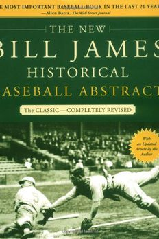 The New Bill James Historical Baseball Abstract book cover