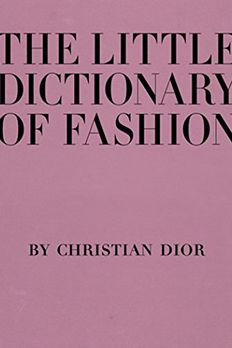 The Little Dictionary of Fashion book cover