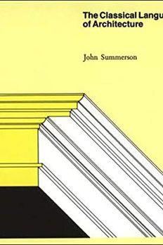 The Classical Language of Architecture book cover