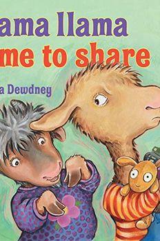 Llama Llama Time to Share book cover
