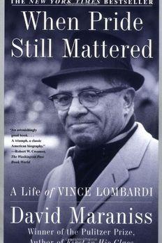When Pride Still Mattered  book cover
