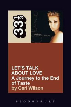Celine Dion's Let's Talk About Love book cover