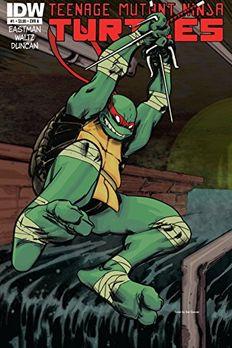 Teenage Mutant Ninja Turtles #1 book cover