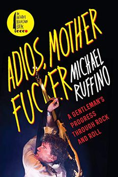 Adios, Motherfucker book cover