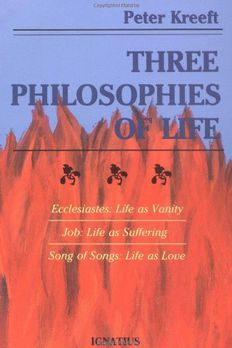 Three Philosophies of Life book cover