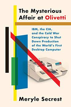 The Mysterious Affair at Olivetti book cover