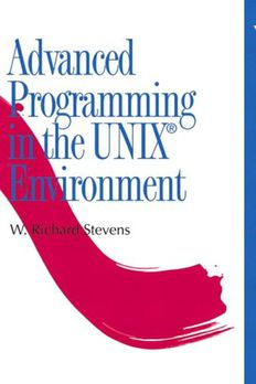 Advanced Programming in the UNIXEnvironment book cover