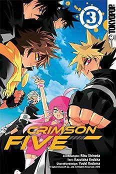 Crimson Five 03 book cover