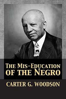 The Mis-Education of the Negro book cover
