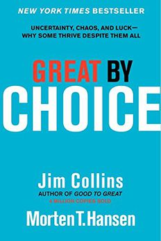 Great by Choice book cover