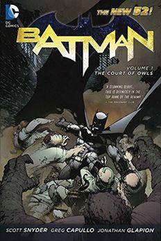 Batman Vol. 1 book cover
