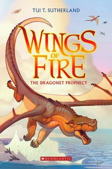 Wings of Fire Book One book cover