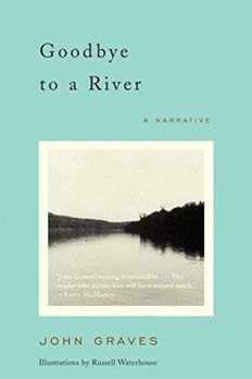 Goodbye to a River book cover
