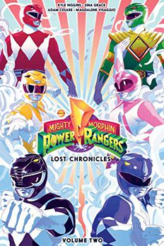 Mighty Morphin Power Rangers book cover