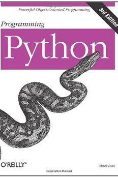 Programming Python book cover