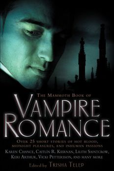 The Mammoth Book of Vampire Romance book cover