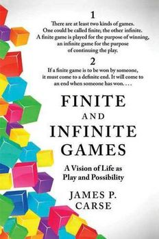 Finite and Infinite Games book cover