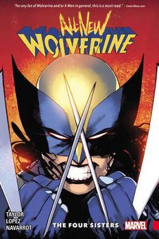 All-New Wolverine Vol. 1 book cover