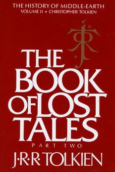 The Book of Lost Tales, Part Two book cover