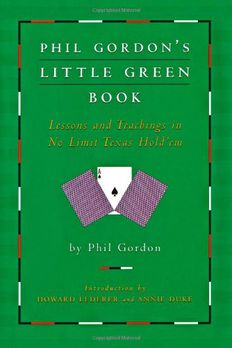 Phil Gordon's Little Green Book book cover