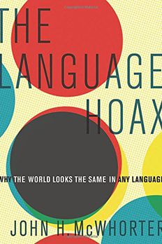 The Language Hoax book cover